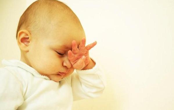 Trẻ bị đau mắt