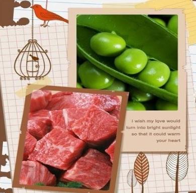 Nấu chó thịt bò ăn dặm