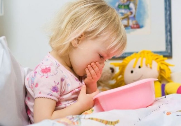 Trẻ bị nôn không sốt